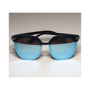 Blue/Black Sunglasses with UV400 Protection